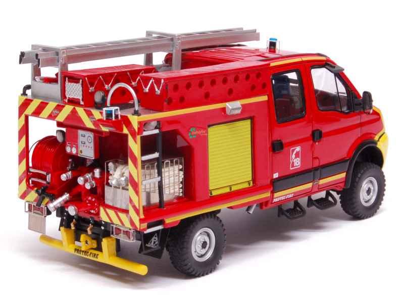iveco daily 4x4 pompiers alerte 1 43 autos. Black Bedroom Furniture Sets. Home Design Ideas