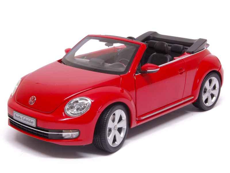 volkswagen new beetle cabriolet 2013 kyosho 1 18 autos miniatures tacot. Black Bedroom Furniture Sets. Home Design Ideas