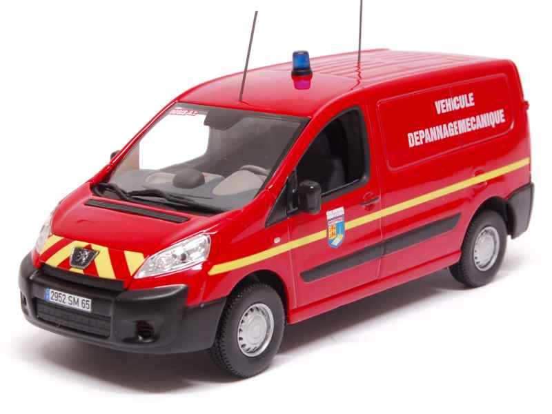 peugeot expert pompiers 2007 norev 1 43 autos miniatures tacot. Black Bedroom Furniture Sets. Home Design Ideas
