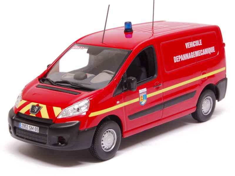 peugeot expert pompiers 2007 norev 1 43 autos miniatures tacot. Black Bedroom Furniture Sets. Home Design Ideas
