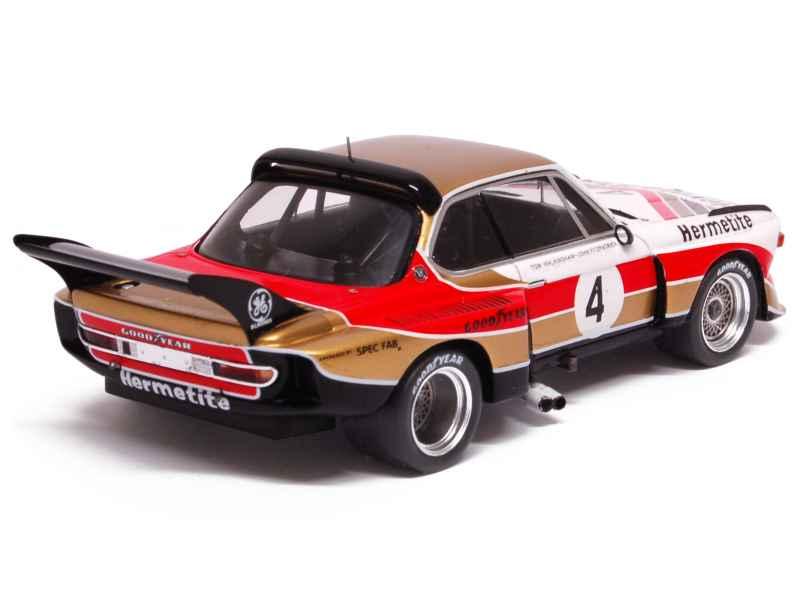 Bmw 3 5 Csl E09 Silverstone 1976 Spark Model 1 43 Autos Miniatures Tacot