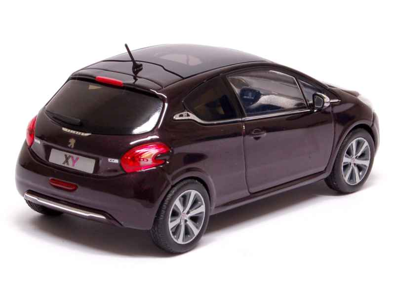 peugeot 208 3 doors xy 2012 norev 1 43 autos miniatures tacot. Black Bedroom Furniture Sets. Home Design Ideas