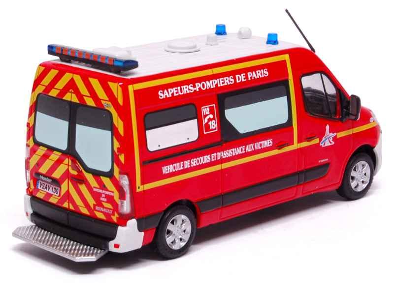 renault master vsav 130 pompiers eligor 1 43 autos miniatures tacot. Black Bedroom Furniture Sets. Home Design Ideas