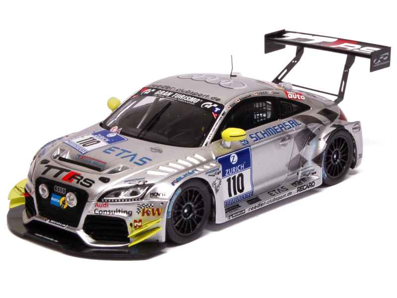 audi tt rs 24h nurburgring 2012 spark model 1 43. Black Bedroom Furniture Sets. Home Design Ideas