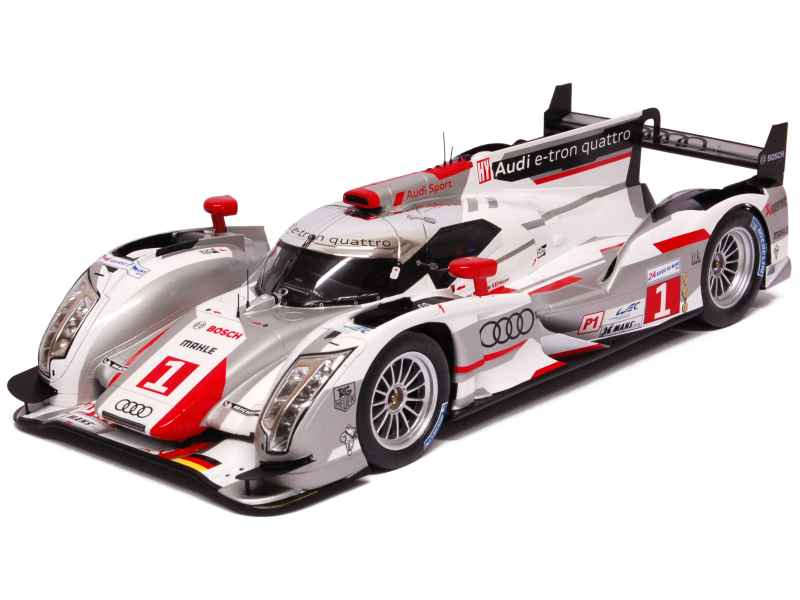 audi r18 e tron quattro le mans 2012 spark model 1 18 autos miniatures tacot. Black Bedroom Furniture Sets. Home Design Ideas