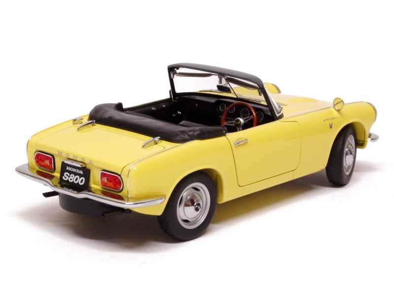 honda s800 cabriolet 1966 autoart 1 18 autos miniatures tacot. Black Bedroom Furniture Sets. Home Design Ideas