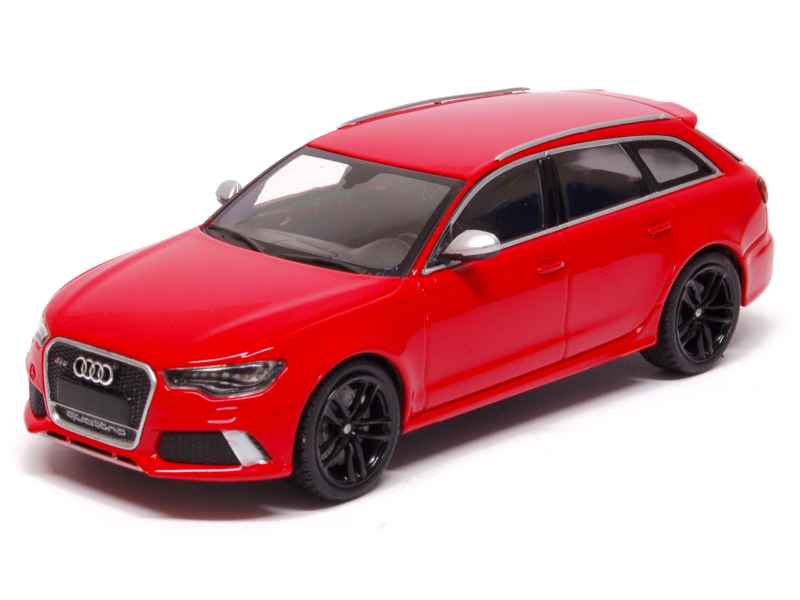 audi rs6 avant 2012 minichamps 1 43 autos. Black Bedroom Furniture Sets. Home Design Ideas