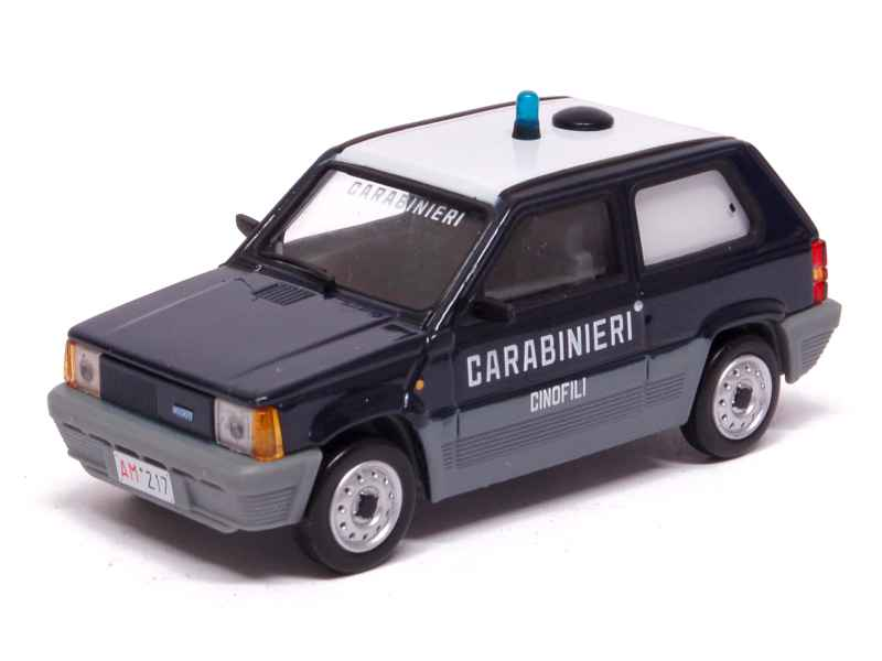 fiat panda carabinieri 1980 x press d 1 43 autos miniatures tacot. Black Bedroom Furniture Sets. Home Design Ideas