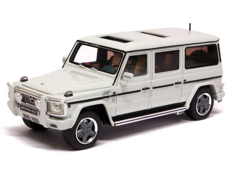 mercedes g63 v12 amg xxl w463 2002 glm 1 43 autos miniatures tacot. Black Bedroom Furniture Sets. Home Design Ideas