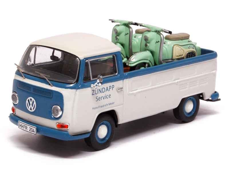 volkswagen combi t2 pick up zundapp premium classixxs 1 43 autos miniatures tacot. Black Bedroom Furniture Sets. Home Design Ideas