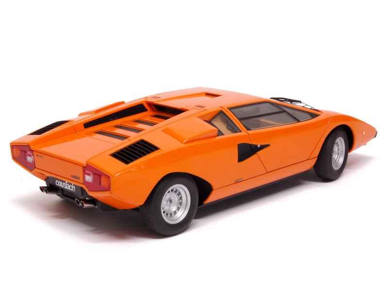 Lamborghini Countach Lp 400 1974 Autoart 1 18 Autos Miniatures Tacot