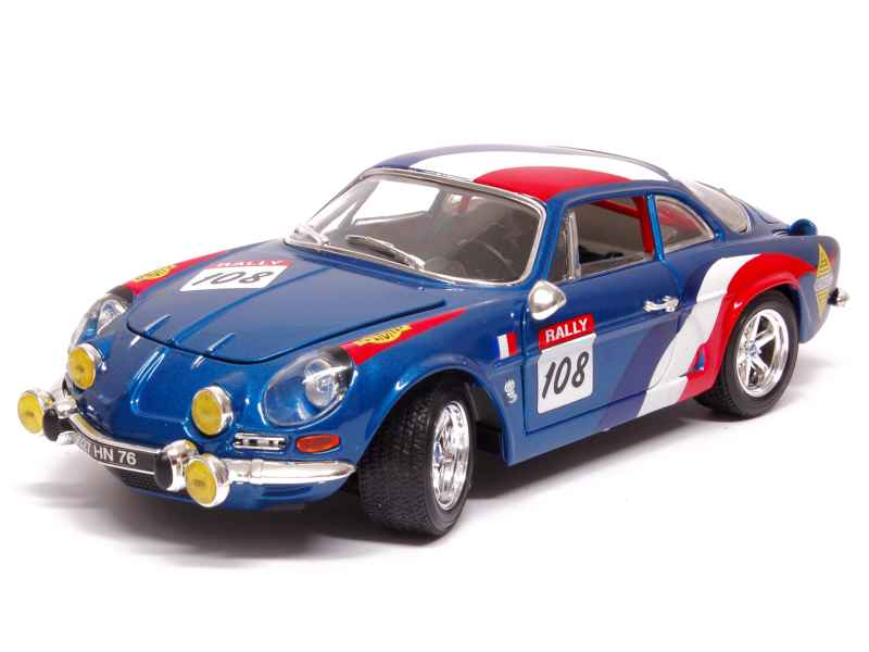 alpine a110 1600 s 1971 burago 1 18 autos miniatures tacot. Black Bedroom Furniture Sets. Home Design Ideas