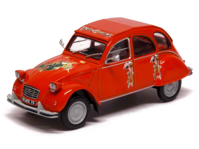 2cv charleston miniature 1/43