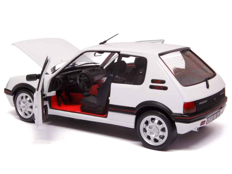 peugeot 205 gti 1 9l 1991 norev 1 18 autos miniatures tacot. Black Bedroom Furniture Sets. Home Design Ideas