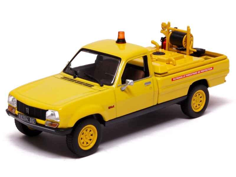 peugeot 504 pick up dangel 4x4 pompiers 1979 norev 1 43 autos miniatures tacot. Black Bedroom Furniture Sets. Home Design Ideas