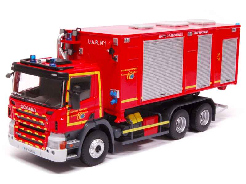 scania p360 vpce pompiers eligor 1 43 autos miniatures tacot. Black Bedroom Furniture Sets. Home Design Ideas