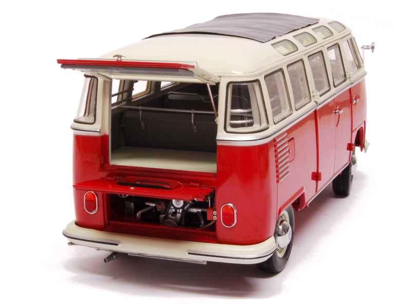 volkswagen combi t1 samba bus 1960 schuco 1 18. Black Bedroom Furniture Sets. Home Design Ideas