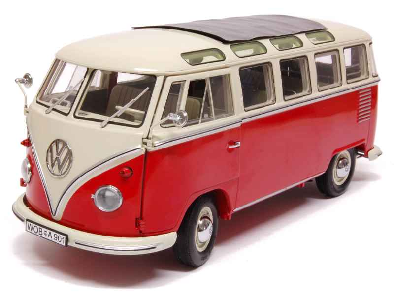 volkswagen combi t1 samba bus 1960 schuco 1 18 autos miniatures tacot. Black Bedroom Furniture Sets. Home Design Ideas