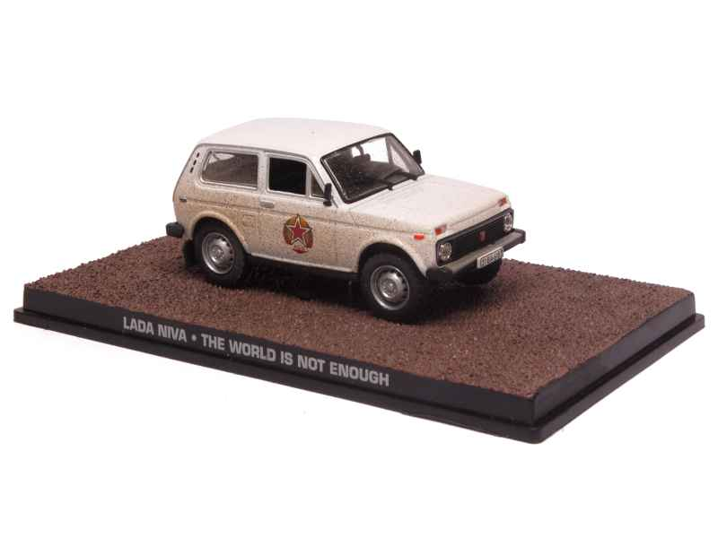 lada niva 4x4 james bond 007 x press f 1 43 autos miniatures tacot. Black Bedroom Furniture Sets. Home Design Ideas