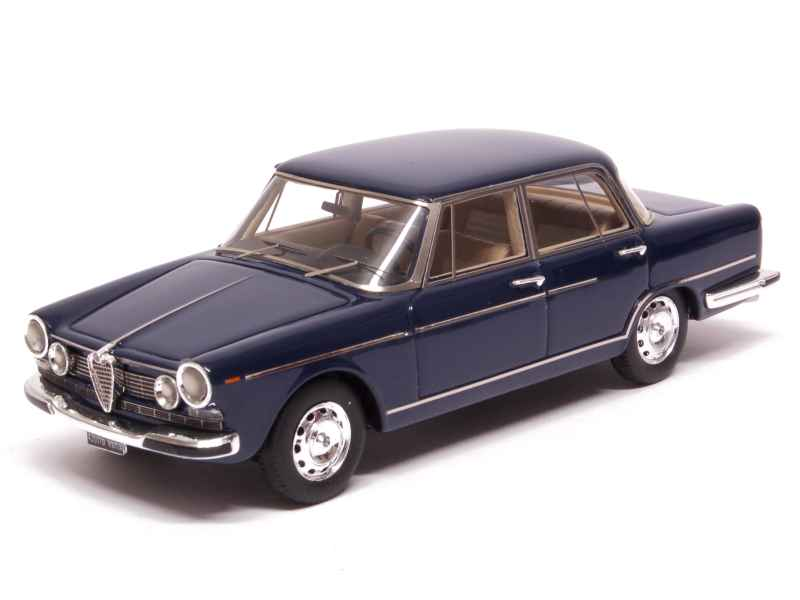 alfa romeo 2600 berline 1962 kess 1 43 autos miniatures tacot. Black Bedroom Furniture Sets. Home Design Ideas