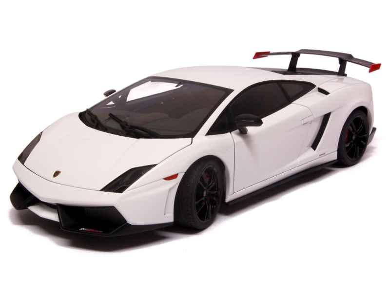 lamborghini gallardo lp 570 supertrofeo autoart 1 18 autos miniatures tacot. Black Bedroom Furniture Sets. Home Design Ideas