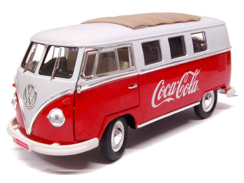 volkswagen combi samba bus 1962 motor city 1 18 autos miniatures tacot. Black Bedroom Furniture Sets. Home Design Ideas
