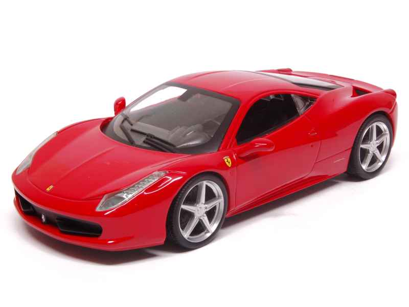 ferrari 458 italia hot wheels 1 24 autos miniatures tacot. Black Bedroom Furniture Sets. Home Design Ideas