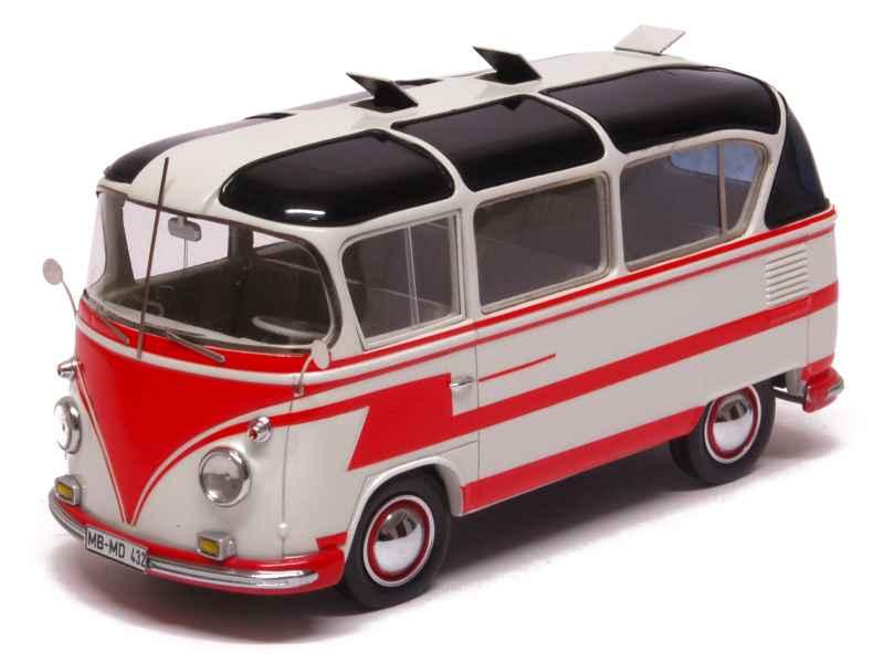 volkswagen combi t1 carlux matrix 1 43 autos miniatures tacot. Black Bedroom Furniture Sets. Home Design Ideas