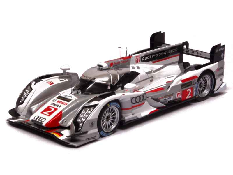 audi r18 e tron quattro le mans 2013 spark model 1 43 autos miniatures tacot. Black Bedroom Furniture Sets. Home Design Ideas