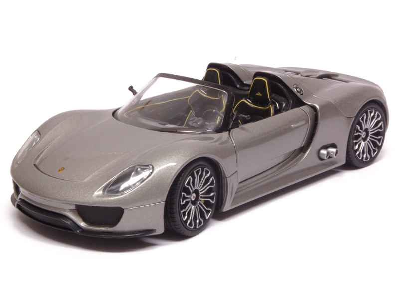 porsche 918 spyder prototype 2010 welly 1 24 autos miniatures tacot. Black Bedroom Furniture Sets. Home Design Ideas
