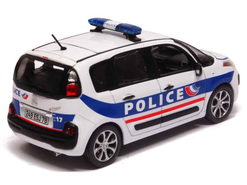 citro n c3 picasso police 2011 norev 1 43 autos miniatures tacot. Black Bedroom Furniture Sets. Home Design Ideas