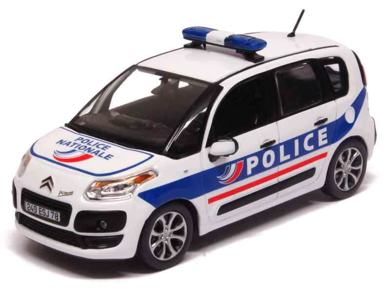 voiture miniature police 1 43 1 18 autos miniatures tacot. Black Bedroom Furniture Sets. Home Design Ideas