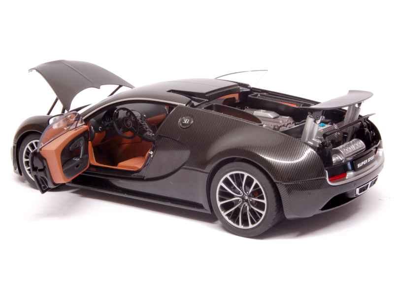 bugatti veyron 16 4 super sport 2010 autoart 1 18. Black Bedroom Furniture Sets. Home Design Ideas