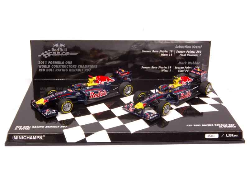 76405 Red Bull RB7 Renault Set 2011