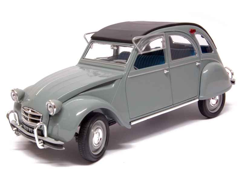 citro n 2cv 1966 norev 1 18 autos miniatures tacot. Black Bedroom Furniture Sets. Home Design Ideas
