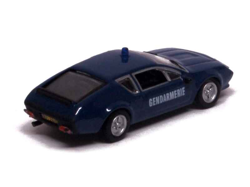 alpine a310 gendarmerie 1977 norev micro ho 1 87 autos miniatures tacot. Black Bedroom Furniture Sets. Home Design Ideas