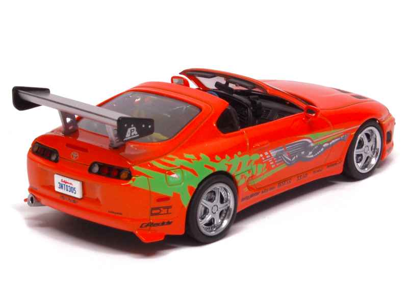 toyota supra mkiv fast furious 1995 greenlight 1 43 autos miniatures tacot. Black Bedroom Furniture Sets. Home Design Ideas