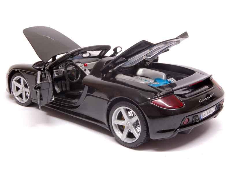 porsche carrera gt 2004 motor max 1 18 autos miniatures tacot. Black Bedroom Furniture Sets. Home Design Ideas