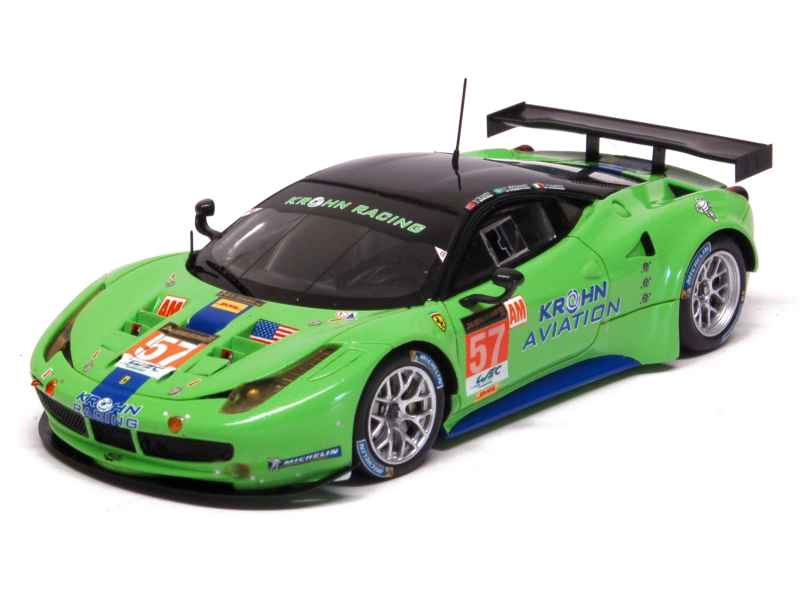 ferrari 458 italia gt2 le mans 2013 fujimi 1 43 autos miniatures tacot. Black Bedroom Furniture Sets. Home Design Ideas