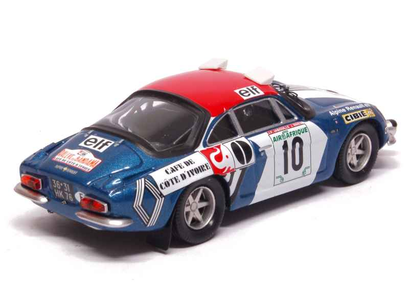alpine a110 bandama rally 1973 trofeu 1 43 autos miniatures tacot. Black Bedroom Furniture Sets. Home Design Ideas