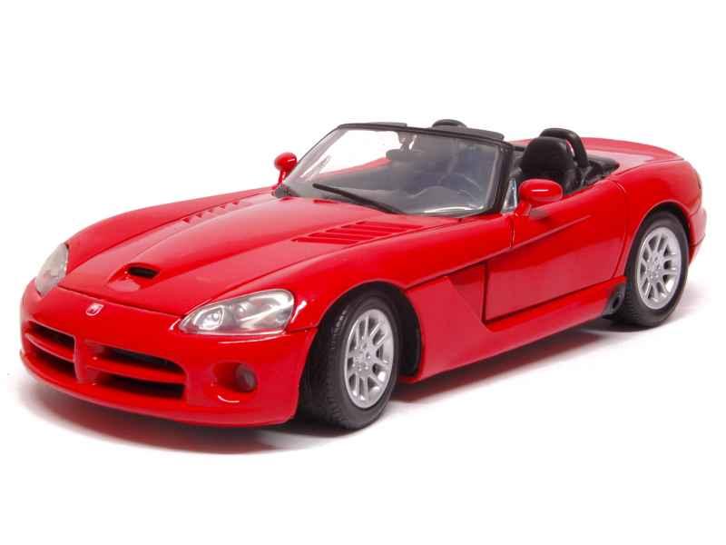 Cérémonie de mariage sur le traîneau, cérémonie d'amitié du père Noël. Motor Max - Dodge Viper SRT-10 2003 - 1/18 | Nouvelle Arrivée
