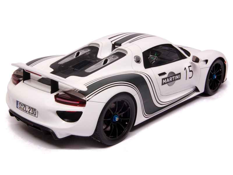 porsche 918 spyder prototype spark model 1 18 autos miniatures tacot. Black Bedroom Furniture Sets. Home Design Ideas