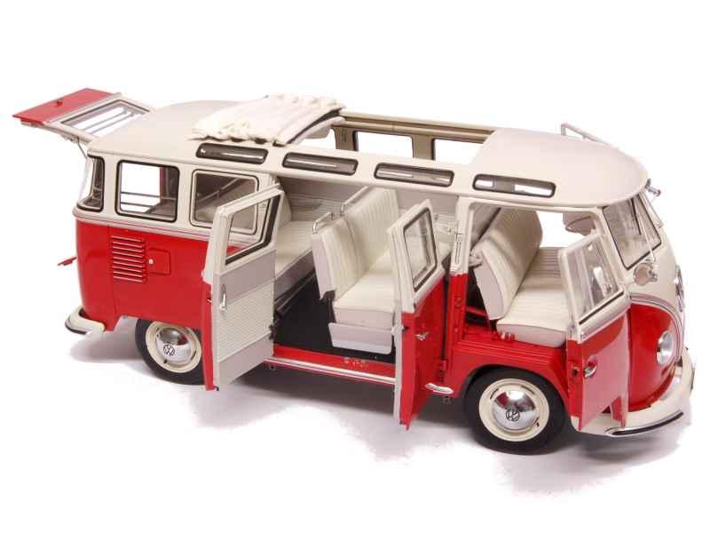 volkswagen combi samba bus 1956 sun star 1 12 autos miniatures tacot. Black Bedroom Furniture Sets. Home Design Ideas