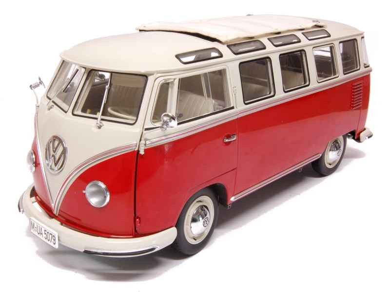 volkswagen combi samba bus 1956 sun star 1 12 autos miniatures tacot. Black Bedroom Furniture Sets. Home Design Ideas
