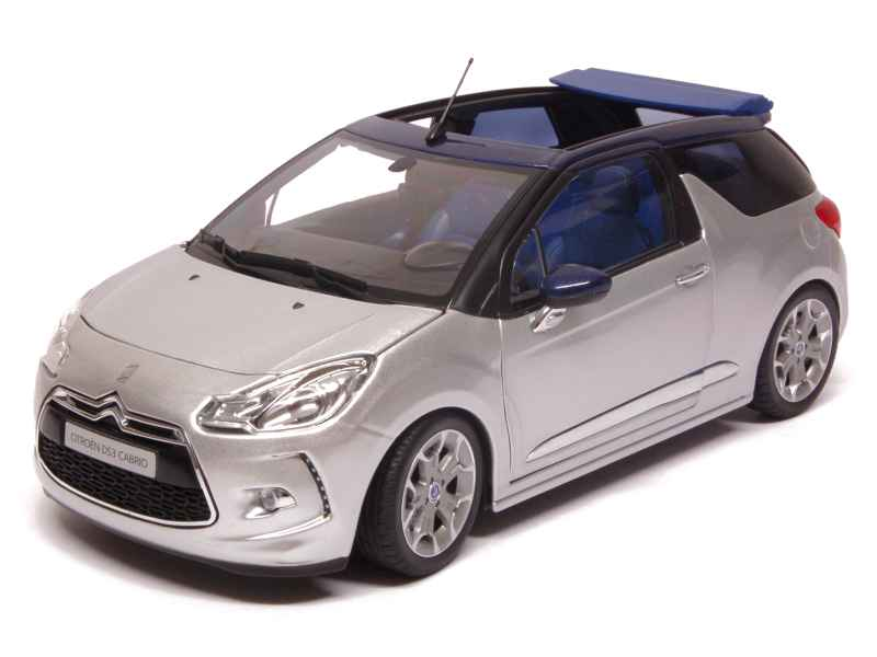 citro n ds3 cabrio 2013 norev 1 18 autos miniatures tacot. Black Bedroom Furniture Sets. Home Design Ideas