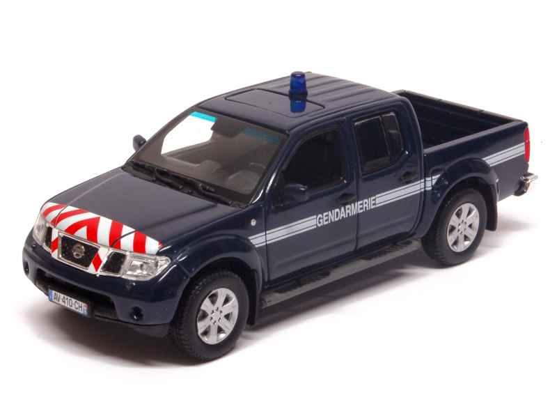 nissan navara gendarmerie 2010 norev 1 43 autos. Black Bedroom Furniture Sets. Home Design Ideas
