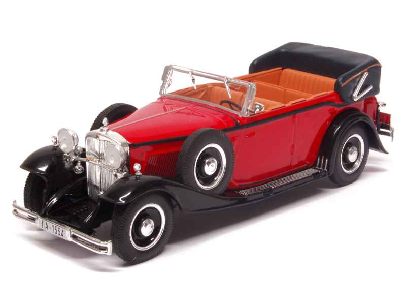 maybach ds8 zeppelin cabriolet 1930 whitebox 1 43 autos miniatures tacot. Black Bedroom Furniture Sets. Home Design Ideas