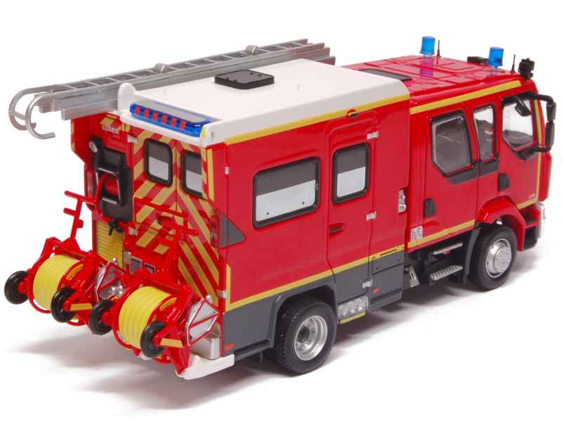 renault midlum fptl pse sides pompiers eligor 1 43 autos miniatures tacot. Black Bedroom Furniture Sets. Home Design Ideas