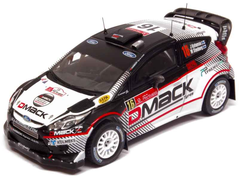 ford fiesta rs wrc portugal rally 2012 ixo 1 43 autos miniatures tacot. Black Bedroom Furniture Sets. Home Design Ideas