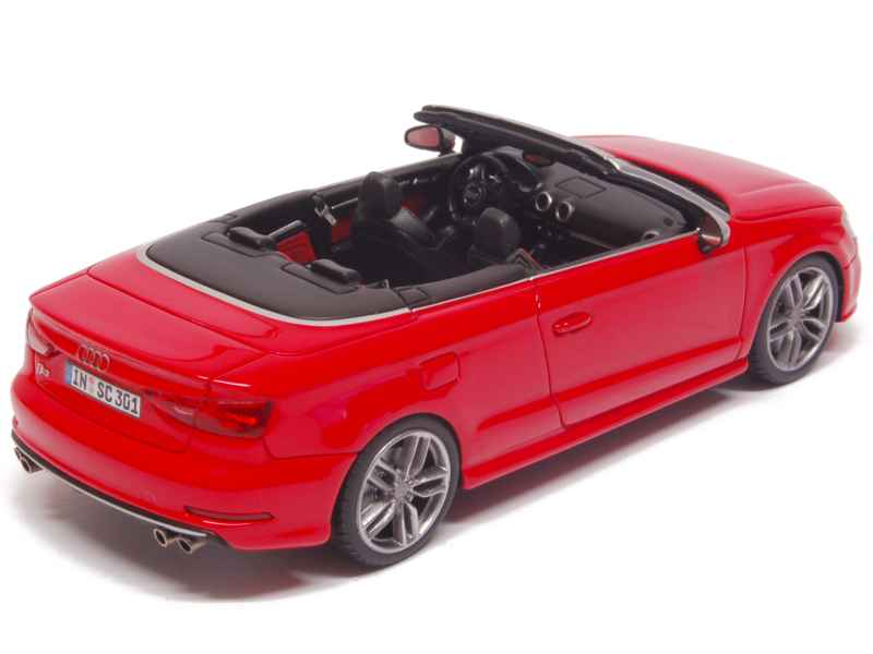 audi a3 s3 cabriolet 2014 minichamps 1 43 autos miniatures tacot. Black Bedroom Furniture Sets. Home Design Ideas